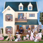 Buy The Calico Critters Deluxe Village House On Sale